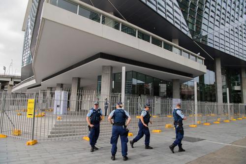 An ninh bên lề hội nghị thượng đỉnh ASEAN - Australia. Ảnh: smh.com.au
