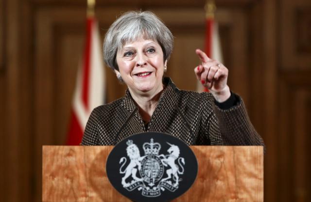 Thủ tướng Anh Theresa May. Nguồn: Reuters