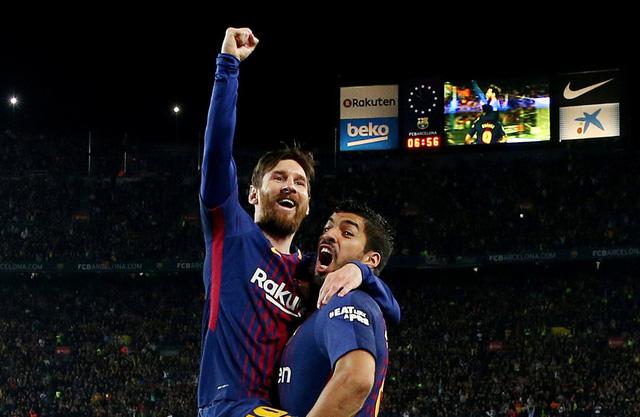 Messi lần thứ 5 giành Chiếc giày vàng châu Âu. Ảnh: Reuters
