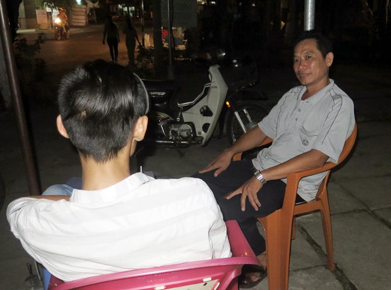 Niềm vui lớn nhất của anh Ngô Quang Ân và các tình nguyện viên là giúp người nghiện cai nghiện thành công và có việc làm ổn định.