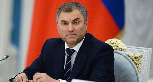 Chủ tịch Duma Quốc gia (Hạ viện Nga) Vyacheslav Volodin. Ảnh: Sputnik.