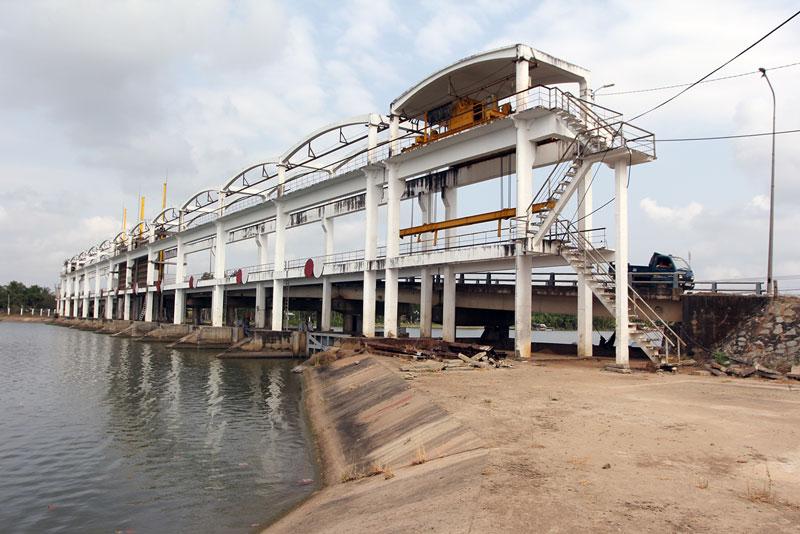 Cống đập Ba Lai đã phát huy tác dụng về kinh tế - xã hội, thủy lợi trong thời gian qua.