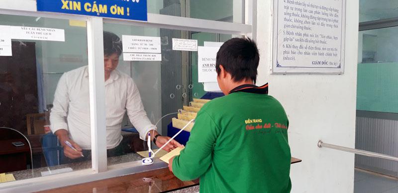 Bệnh nhân tham gia điều trị tại Trung tâm phòng chống HIV/AIDS.