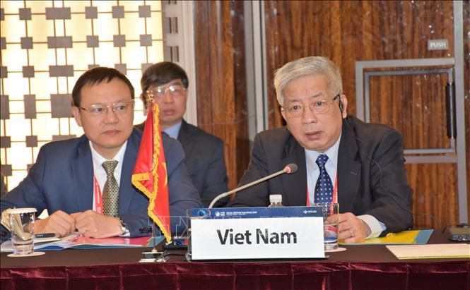 Thượng tướng Nguyễn Chí Vịnh. Ảnh tư liệu: Mạnh Hùng/TTXVN