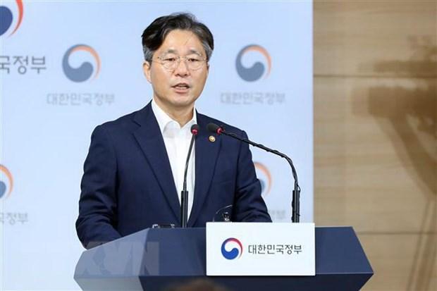 Bộ trưởng Thương mại Hàn Quốc Sung Yun-mo. (Nguồn: Yonhap/TTXVN)