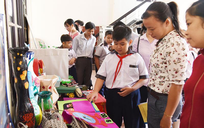Ươm mầm sáng tạo cho học sinh bắt đầu từ việc tạo dựng một môi trường sáng tạo.