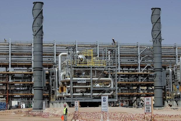 Một cơ sở lọc dầu tại Al-Khurais, Saudi Arabia. Nguồn: AFP/TTXVN