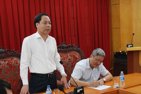 Phó tổng Thanh tra Chính phủ Trần Ngọc Liêm phát biểu chỉ đạo. Ảnh: Báo Lao động