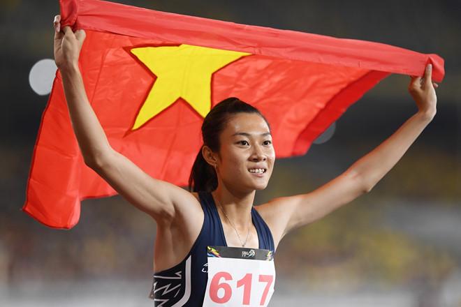 Lê Tú Chinh vẫn là niềm hy vọng của điền kinh Việt Nam tại SEA Games 30