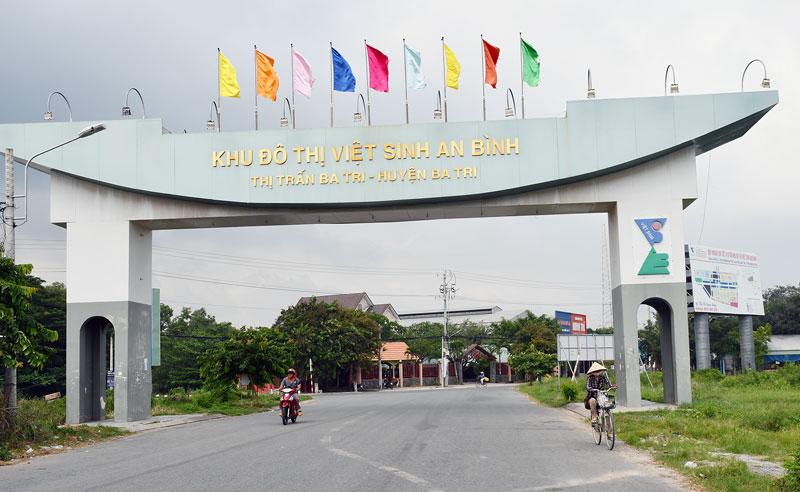 Khu đô thị Việt Sinh An Bình (Ba Tri).