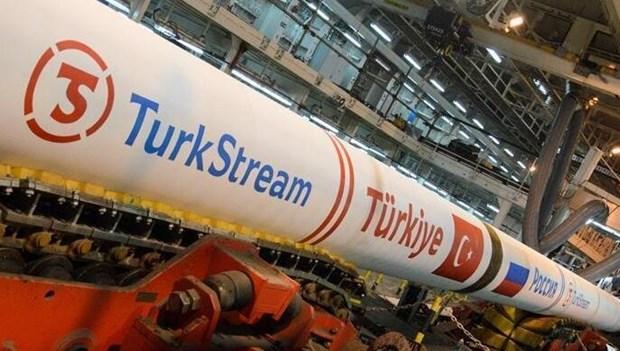 TurkStream là một dự án tham vọng từ Nga băng qua Biển Đen tới Thổ Nhĩ Kỳ và châu Âu. Nguồn: hurriyetdailynews.com