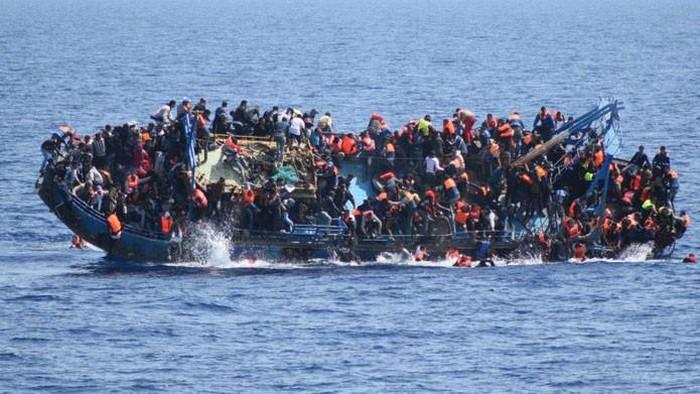 Một tàu chở người di cư vượt biển ở Lybia. (Ảnh minh họa: CNN)