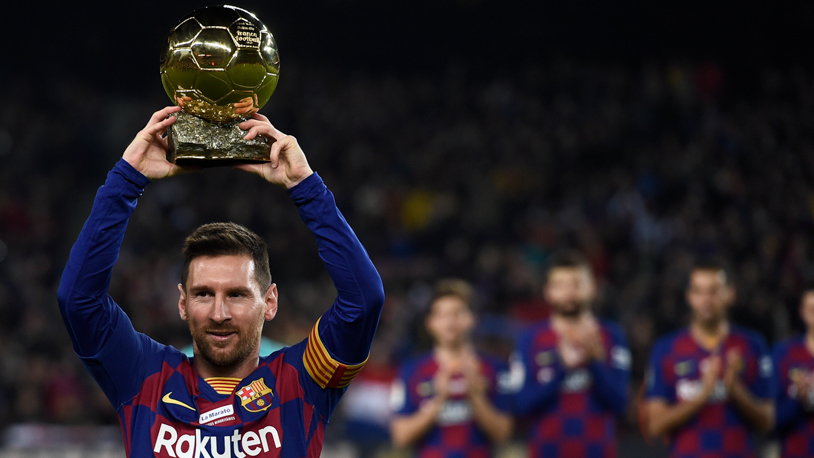 Messi rất thành công ở danh hiệu cá nhân cũng như tập thể