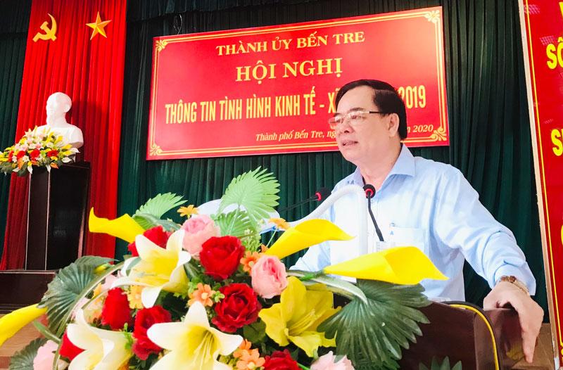 Phát biểu Đồng chí Trần Ngọc Tam - Phó Bí thư thường trực tỉnh ủy