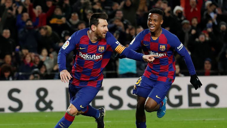 Như thường lệ, Messi ghi bàn giúp Barca thắng trận.