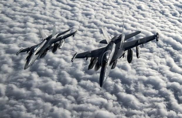 Chiến đấu cơ EA-18G Growler. (Nguồn: Flightglobal)