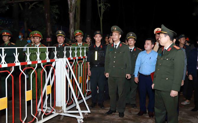 Đúng 0h ngày 4-3, 12 chốt kiểm soát covid-19  trên địa bàn xã Sơn Lôi chấm dứt hoạt động. Ảnh: Cổng TTĐT tỉnh Vĩnh Phúc