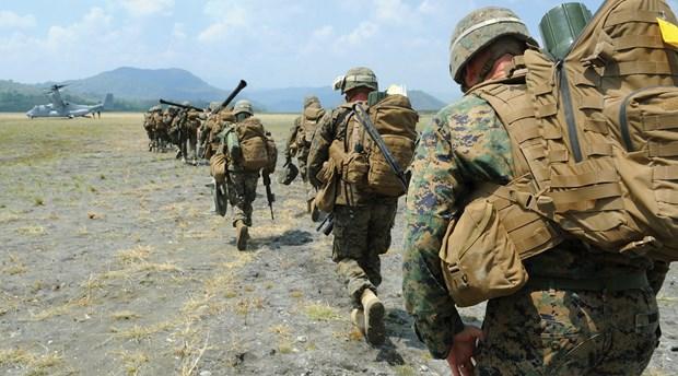 Cuộc tập trận Balikatan vào năm 2013. Ảnh: USNI