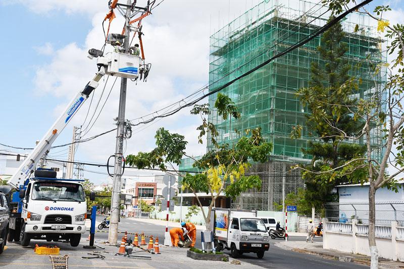 Hoàn thiện hệ thống hạ tầng đô thị trên địa bàn TP. Bến Tre.
