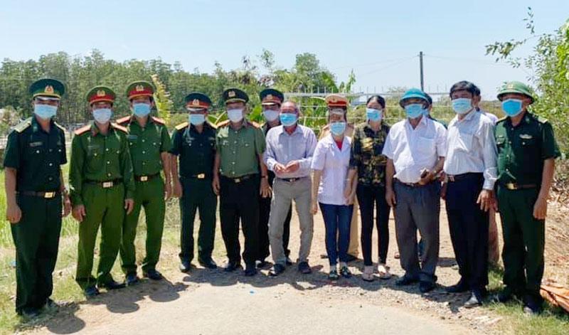 Ấp Thừa Lợi, xã Thừa Đức đã hoàn thành nhiệm vụ cách ly