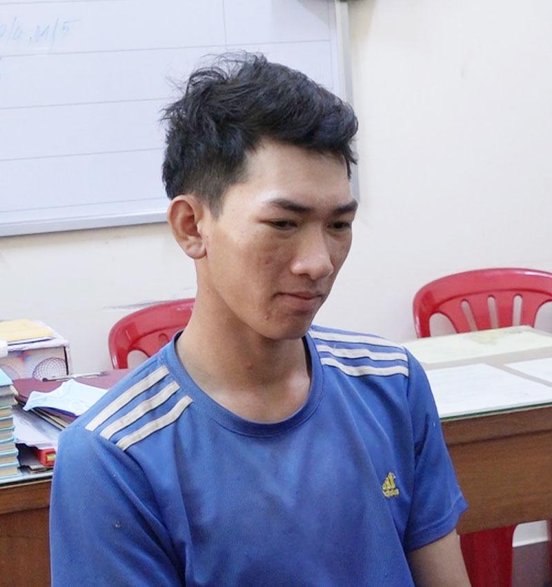 Đối tượng Nguyễn Hữu Lộc.
