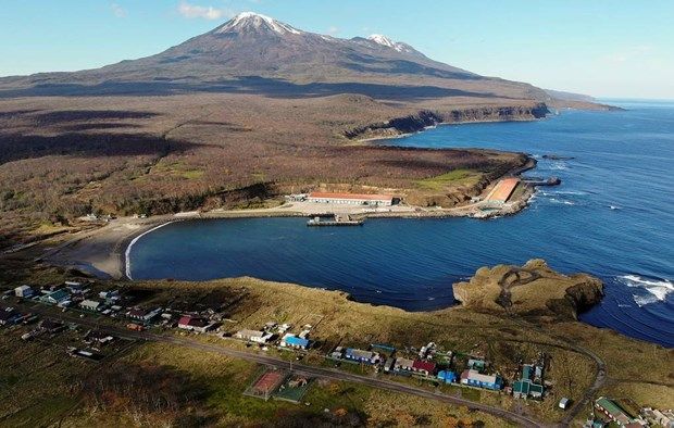 Quần đảo tranh chấp giữa Nga và Nhật Bản. (Nguồn: TASS)