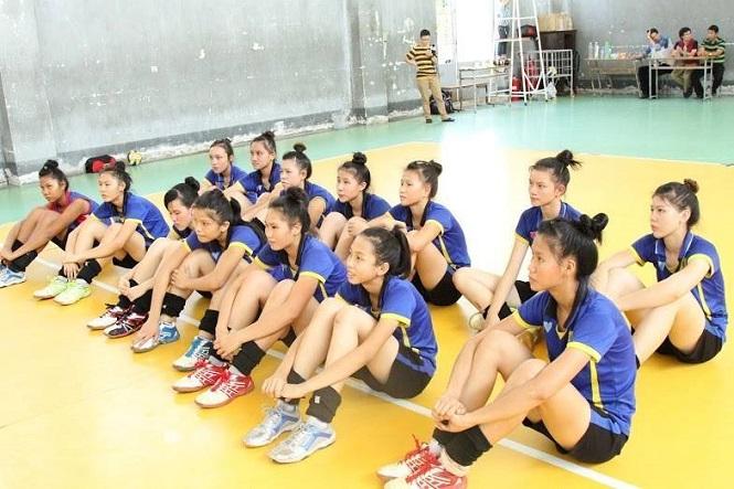 Các cầu thủ trẻ của VTV Bình Điền Long An rất chất lượng