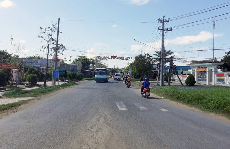 Xã Bình Thới - Cửa ngõ trung tâm huyện Bình Đại.