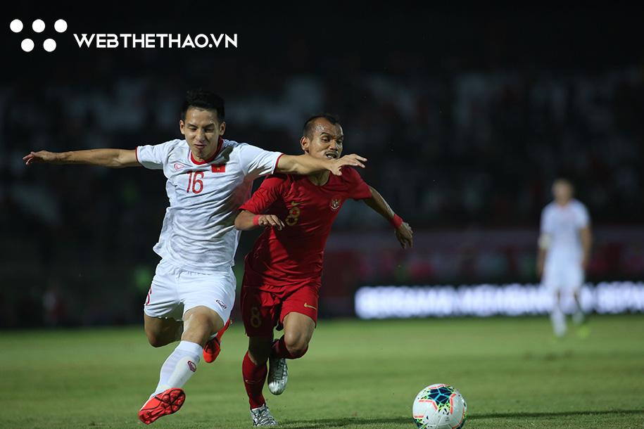 ĐT Việt Nam sẽ có cơ hội tiến vào vòng loại tiếp theo nếu thắng Indonesia.