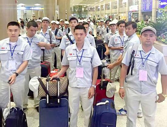 Lao động Việt Nam đi làm việc ở nước ngoài. Ảnh: XM/Báo Tin tức