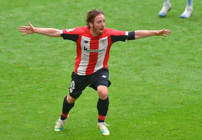 Muniain mở tỷ số cho Bilbao ở phút 37