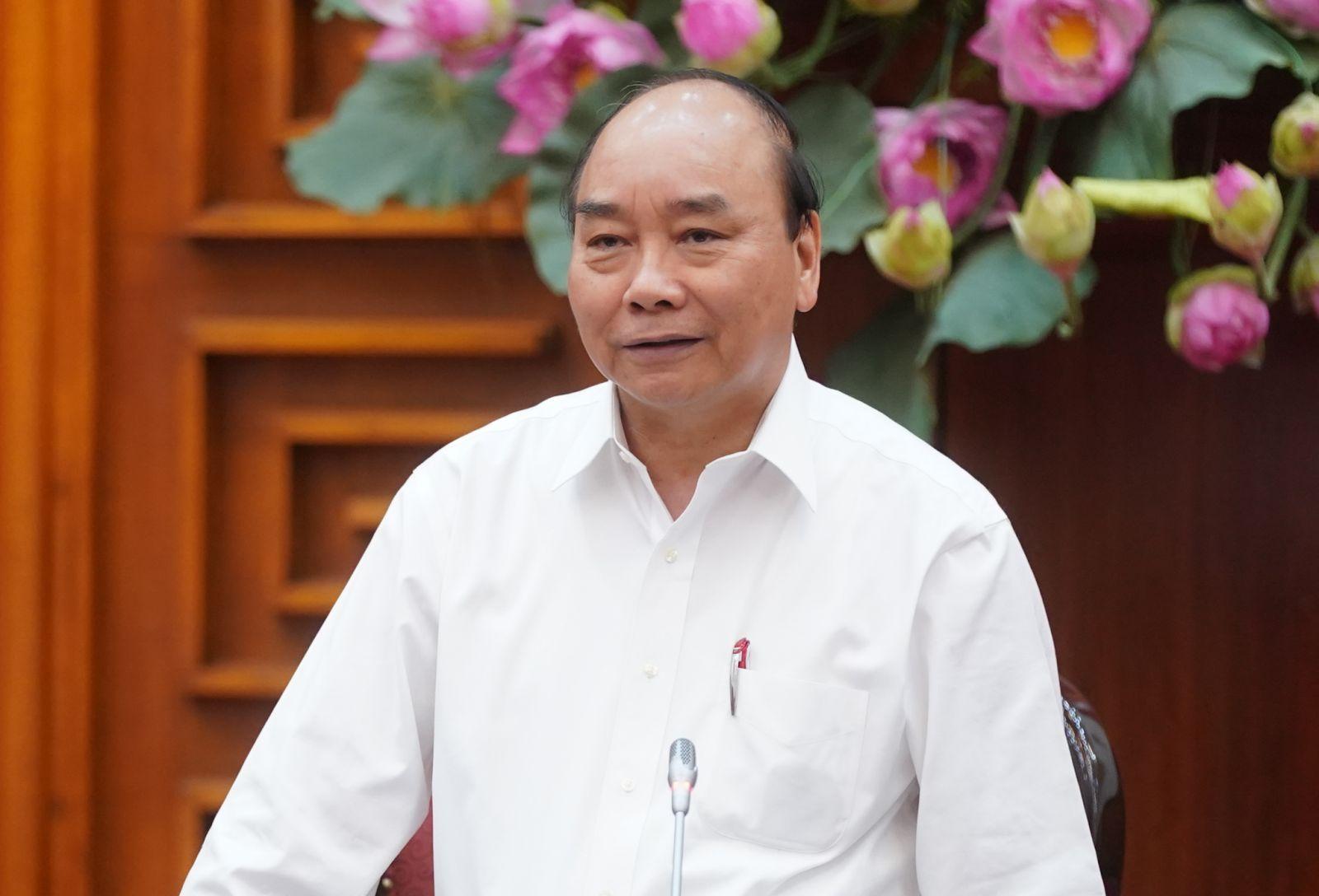 Thủ tướng phát biểu chỉ đạo tại cuộc họp. Ảnh: VGP/Quang Hiếu