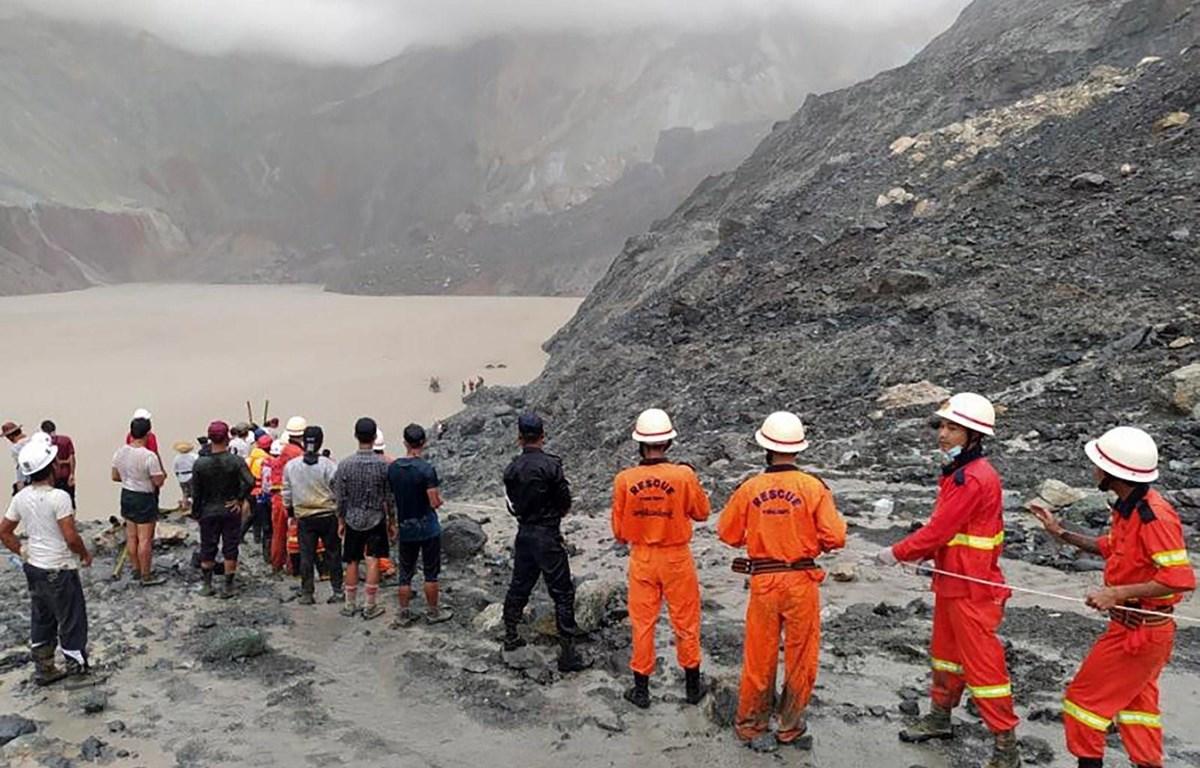 Số người thiệt mạng trong vụ lở đất tại mỏ khai thác đá quý ở miền Bắc Myanmar ngày 2-7-2020 đã lên tới 162 người, ngoài ra có 54 người khác bị thương.