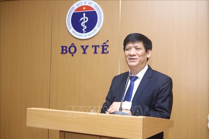 Giáo sư, Tiến sĩ Nguyễn Thanh Long, Thứ trưởng thường trực Bộ Y tế được bổ nhiệm giữ chức Bí thư Ban cán sự Đảng Bộ Y tế và quyền Bộ trưởng Bộ Y tế. Ảnh: Minh Quyết/TTXVN