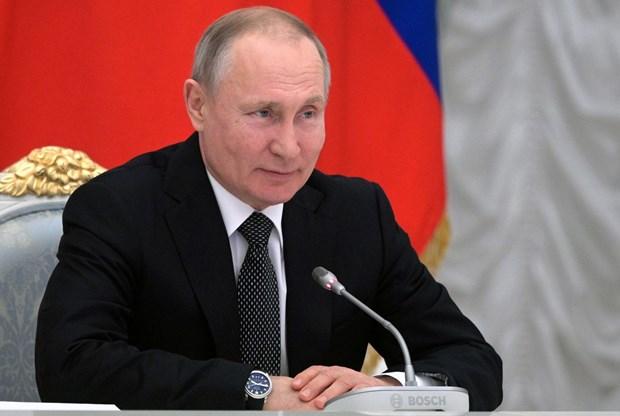 Tổng thống Nga Vladimir Putin. (Nguồn: AP)