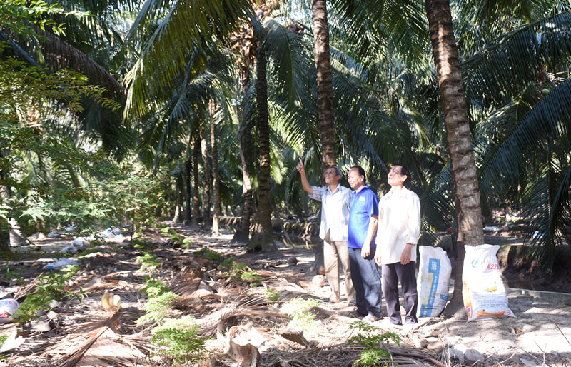 Tập trung nguồn vốn phục vụ phát triển nông nghiệp.