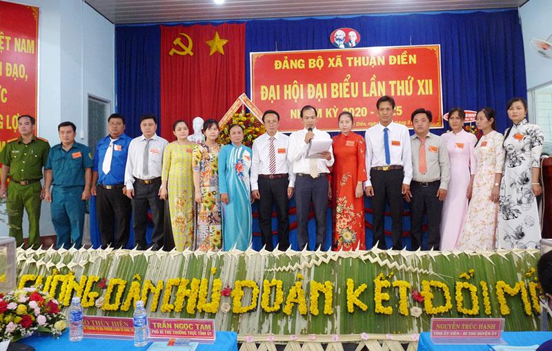 Xã Thuận Điền được huyện chọn đại hội điểm. Ảnh: Huỳnh Lâm