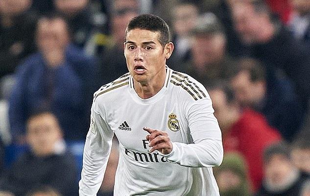 James Rodriguez không còn cơ hội đá cho Real Madrid