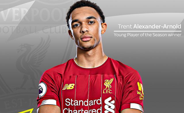 Hậu vệ cánh Trent Alexander-Arnold.