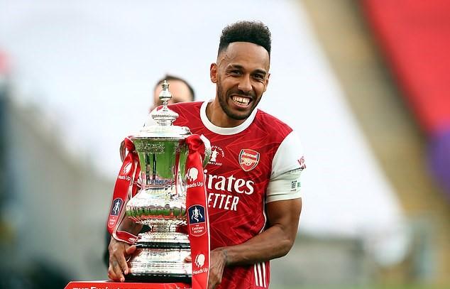 Aubameyang góp công lớn giúp Arsenal vô địch FA Cup