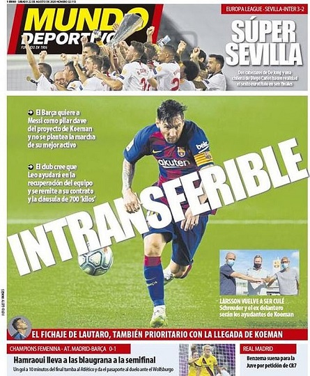 Barca tuyên bố không bán Messi