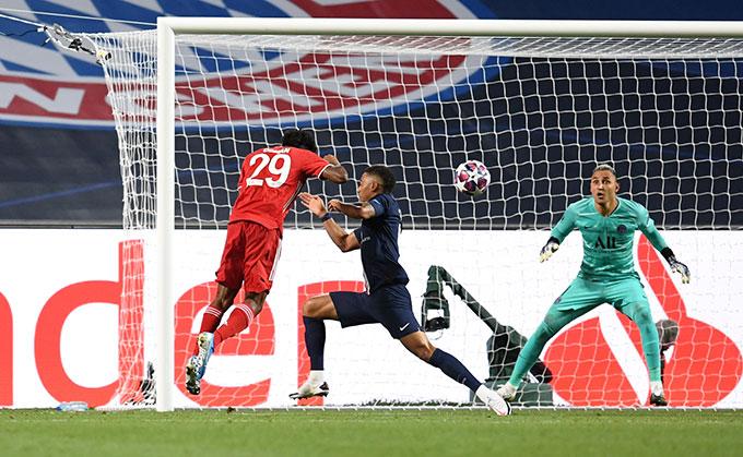 Coman ghi bàn duy nhất của trận đấu ở phút 59
