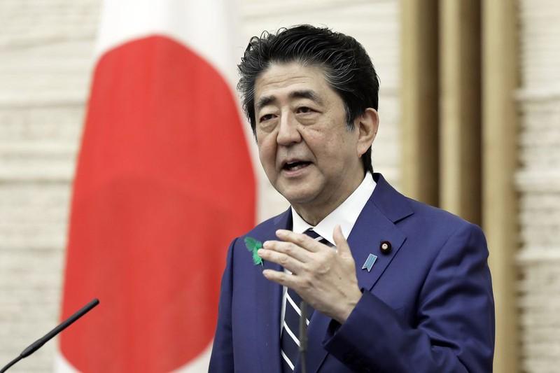 Thủ tướng Nhật Bản Shinzo Abe. Ảnh: Kyodo