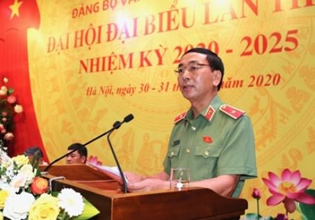 Thứ trưởng Trần Quốc Tỏ phát biểu chỉ đạo Đại hội.
