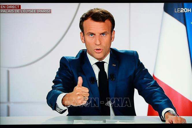 Tổng thống Pháp Emmanuel Macrons. Ảnh: AFP/TTXVN