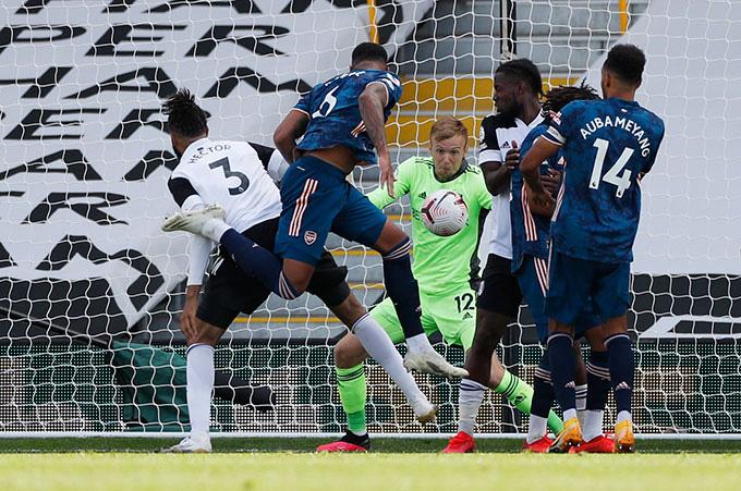 Magalhaes ghi bàn ngay ở trận ra mắt Arsenal