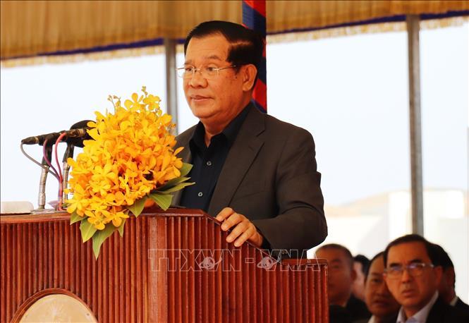 Thủ tướng Campuchia Hun Sen. Ảnh: Lê Đức Hoảnh/TTXVN