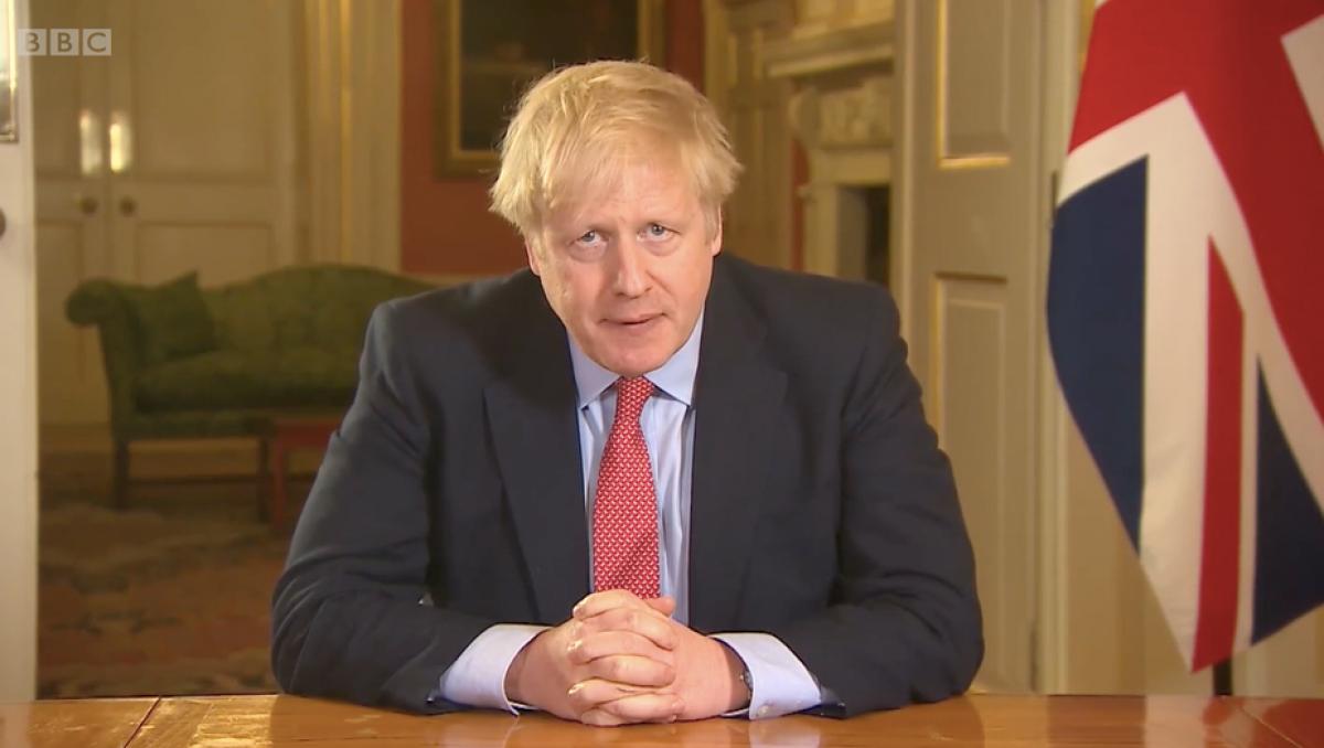 Thủ tướng Anh Boris Johnson (Ảnh: BBC).