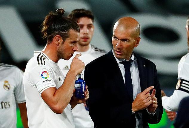 Bale rời Real Madrid vì mâu thuẫn với HLV Zidane