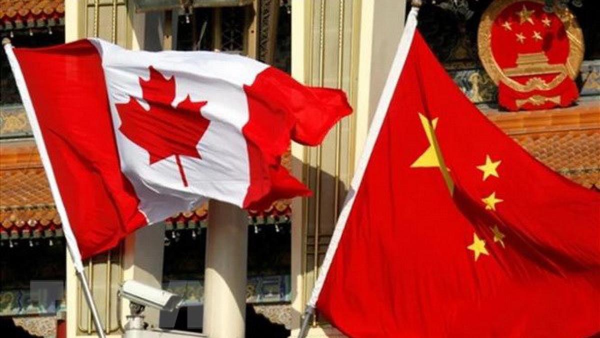 Canada dừng đám phán thương mại tự do với Trung Quốc. Ảnh: South China Morning Post/TTXVN
